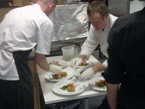 Service at corporate event in Glasgow