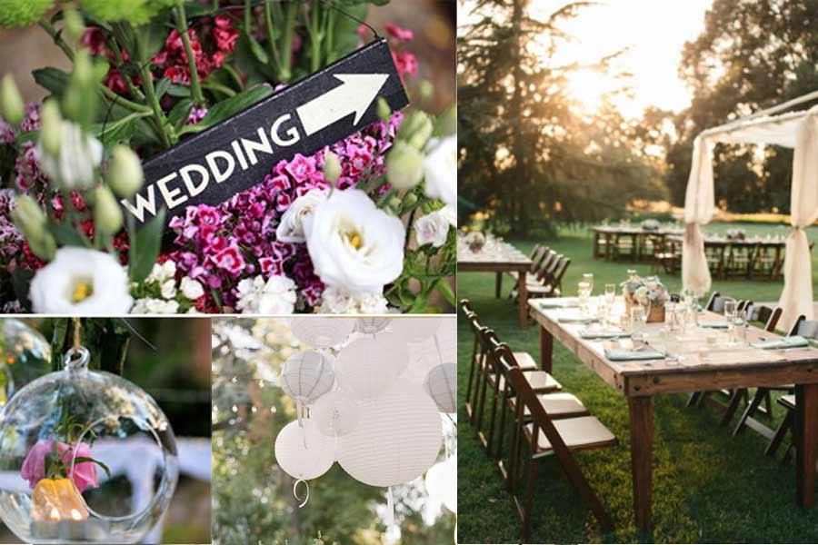 Top Garden Wedding Trends: Wedding Trends, Vintage, Garden Party, Colourful Weddings